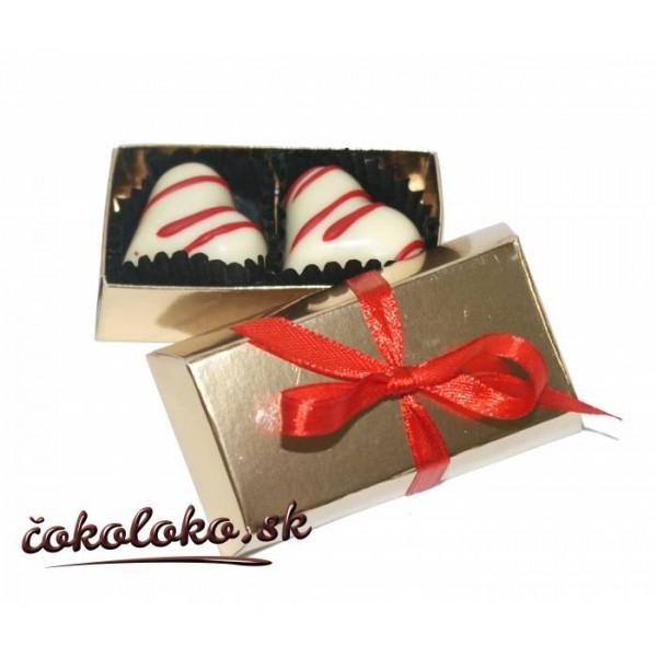 Mini čokoládová bonboniérka