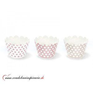 """Košíčky na CUPCAKES """"Sweets"""" (6 ks)"""