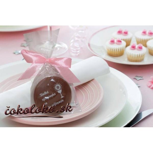 """Čokoládka na 1.sväté prijímanie """"DUKÁTIK"""""""
