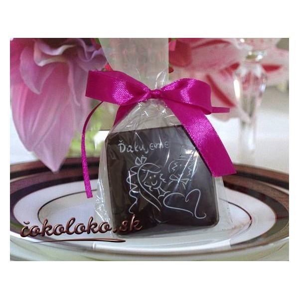 """Svadobná čokoládka """"TABLIČKA"""""""