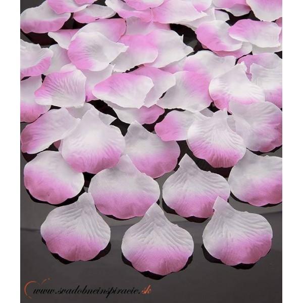 Lupene ruží - smotanovo-ružové
