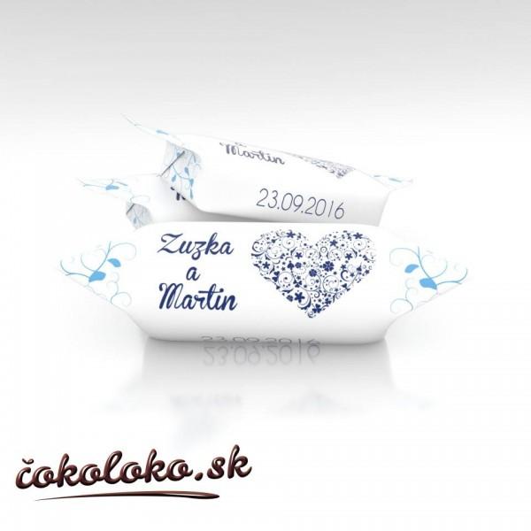 Svadobné krovky personalizované, vzor SV10 (1 kg)