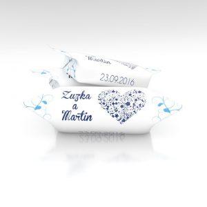 Svadobné krovky s menami