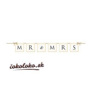 Girlanda MR&MRS (0,77 m)