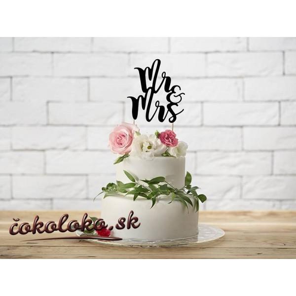 """Zápich na tortu """"MR&MRS"""""""
