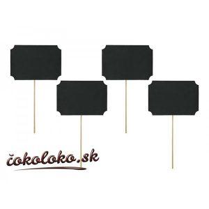 Tabuľky na paličke (4 ks)