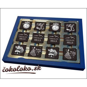 Čokoládová bonboniéra PRESTIGE s logom