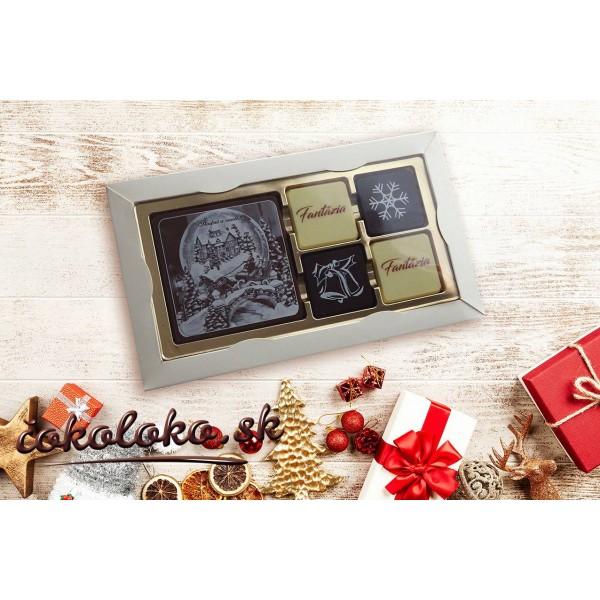 Čokoládová bonboniéra ELEGANCE