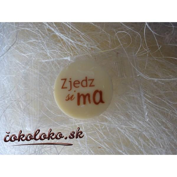Mini svadobné čokoládky S NÁPISMI (50 ks)