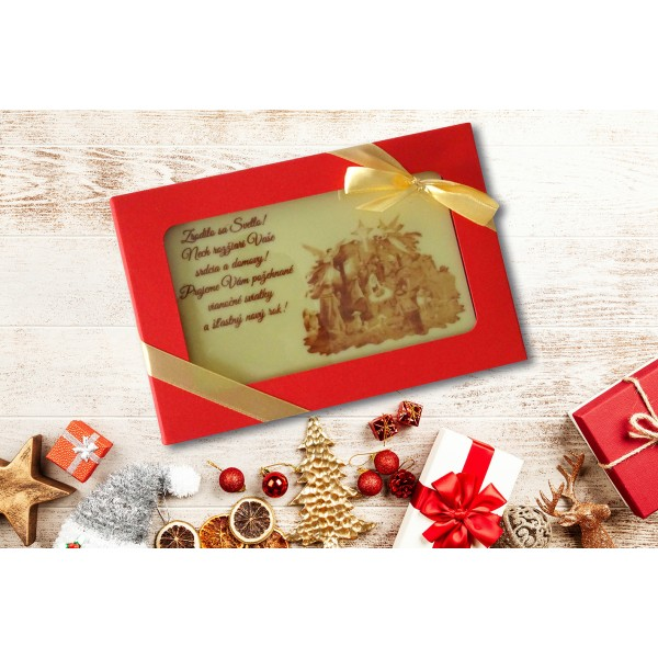 Vianočná čokopohľadnica, VZOR 03