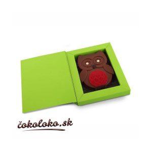 Čokoládová SOVIČKA v darčekovom balení