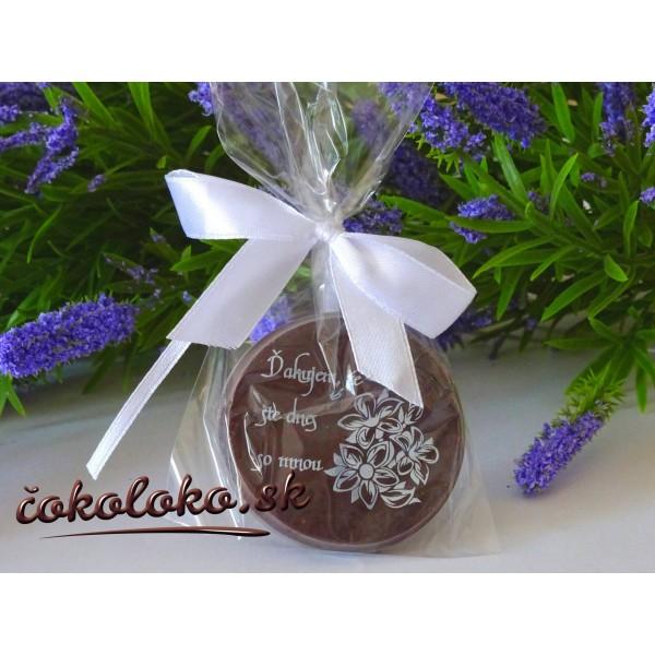 """Čokoládky na oslavu """"DUKÁTIK"""""""