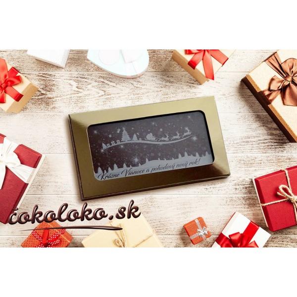 Vianočné čokoládky (10x5 cm)