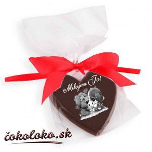 Valentínske ČOKOLÁDOVÉ SRDIEČKO