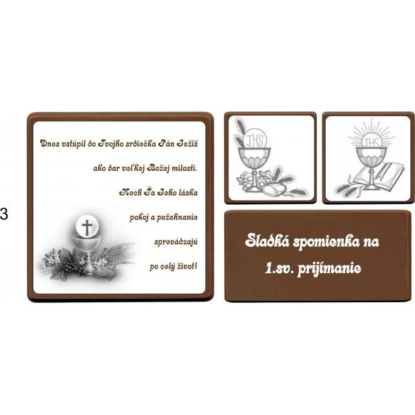 Čokoládová bonboniérka na 1.sv.prijímanie