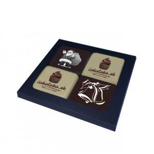 Čokoládová bonboniéra QUATRO