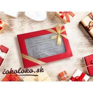 Vianočná čokopohľadnica, VZOR 10