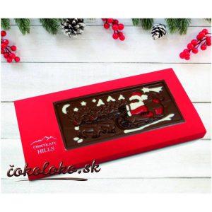 """Vianočná čokoláda """"Prichádza Mikuláš!"""""""