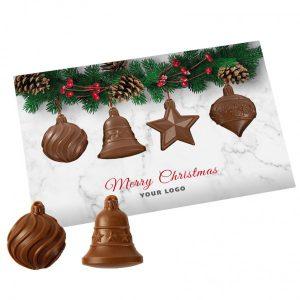 Čokoládové vianočné prianie so zvončekmi