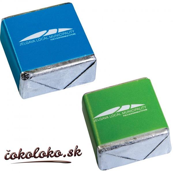 Čokoládová kocka s potlačou (12 g)