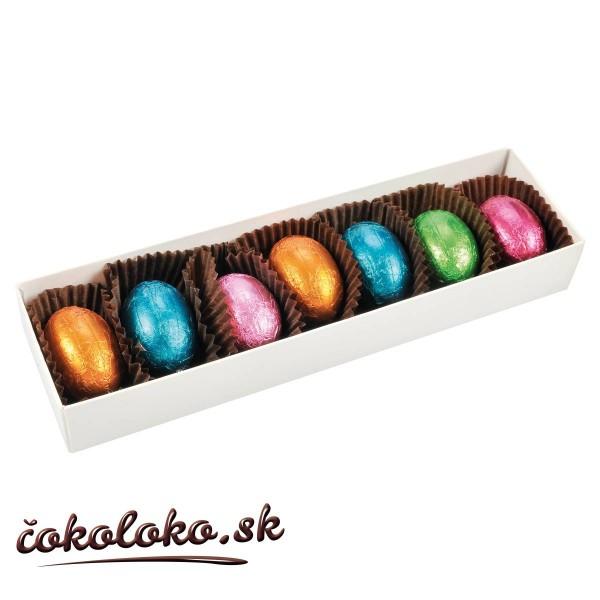 Čokoládová bonboniérka s vajíčkami