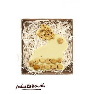 BIO čokoládový zajačik s lieskovcami (100 g)