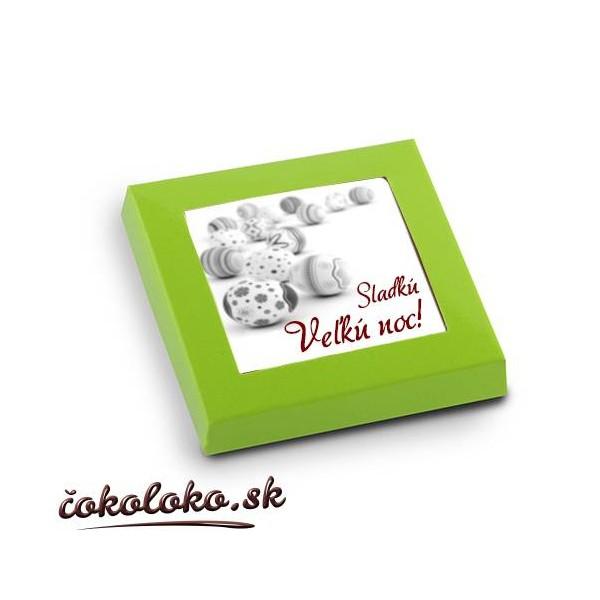 Veľkonočné čokoládky (5x5 cm), vzor 01