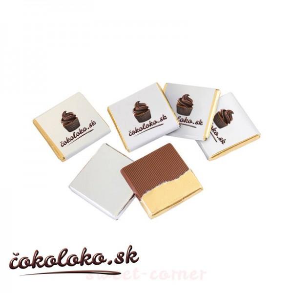 """Čokoládka s potlačou """"SQUARE"""" (4,5 g)"""