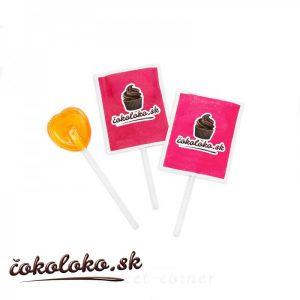 Ovocná lízanka s logom (5 g)