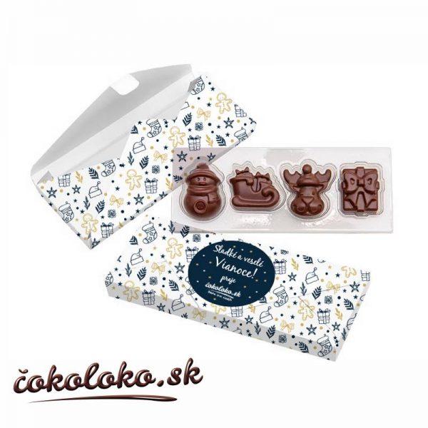 Čokoládová bonboniéra Vianočná nádielka