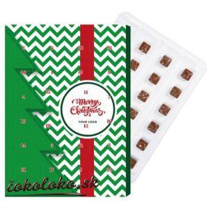 Čokoládový adventný kalendár MINI