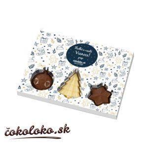 Čokoládová bonboniéra VIANOČNÉ PREKVAPENIE