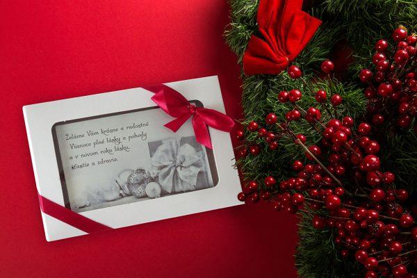 Vianočná čokopohohľadnica, vzor 04